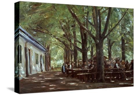 Brasserie À Branneburg (Outdoor Café in Branneburg, Germany), 1893-Max Liebermann-Stretched Canvas Print
