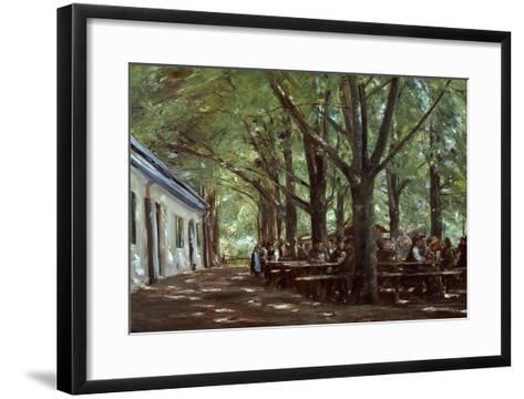Brasserie À Branneburg (Outdoor Café in Branneburg, Germany), 1893-Max Liebermann-Framed Art Print