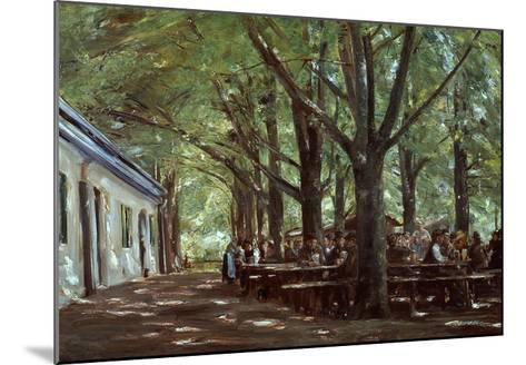 Brasserie À Branneburg (Outdoor Café in Branneburg, Germany), 1893-Max Liebermann-Mounted Giclee Print