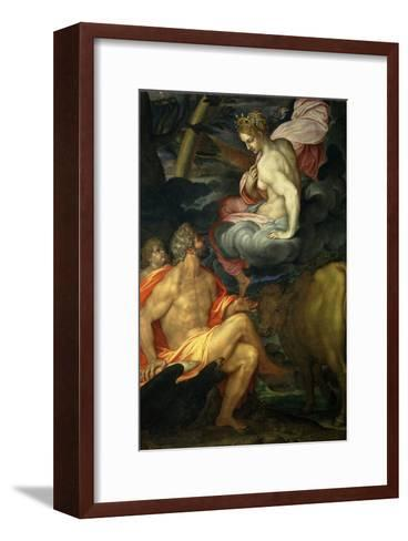 Jupiter and Juno-Ambrogio Figino-Framed Art Print