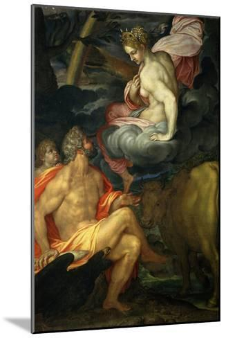 Jupiter and Juno-Ambrogio Figino-Mounted Giclee Print