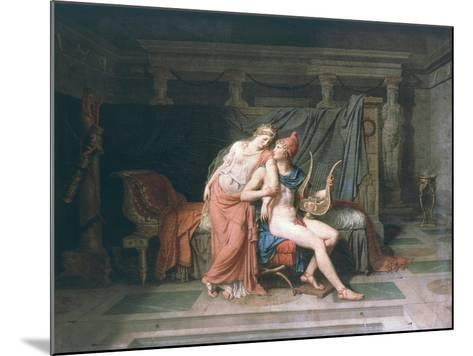 Les Amours De Pâris Et D'Hélène (Love of Paris and Helen), 1788-Jacques-Louis David-Mounted Giclee Print
