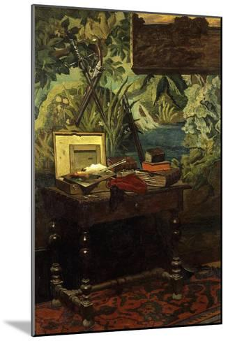 Coin D'Atelier, Corner of the Artist's Studio, 1861-Claude Monet-Mounted Giclee Print