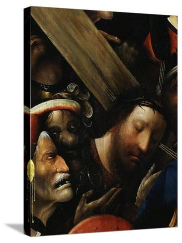 Christ, from Christ Carrying the Cross, C. 1490 (Detail)-Hieronymus Bosch-Stretched Canvas Print