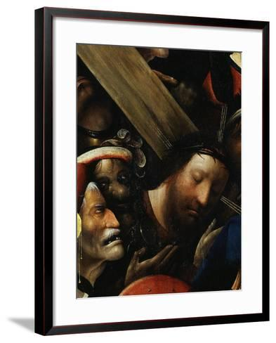 Christ, from Christ Carrying the Cross, C. 1490 (Detail)-Hieronymus Bosch-Framed Art Print