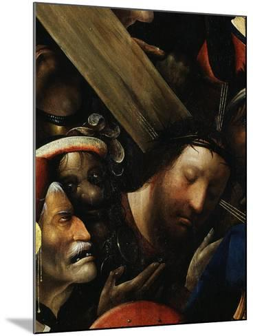 Christ, from Christ Carrying the Cross, C. 1490 (Detail)-Hieronymus Bosch-Mounted Giclee Print
