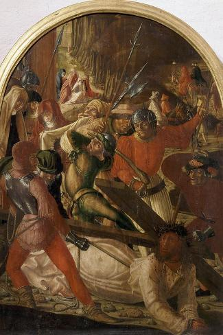 The Ascent to Calvary, C. 1506-Marx Reichlich-Stretched Canvas Print