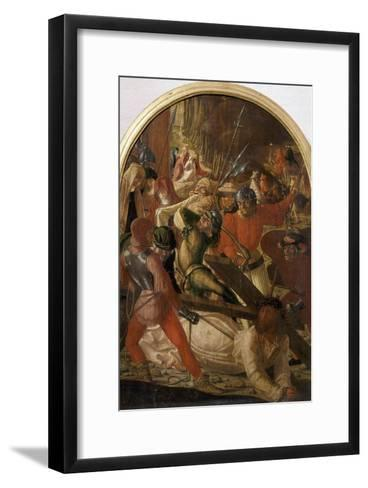 The Ascent to Calvary, C. 1506-Marx Reichlich-Framed Art Print