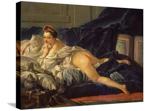 Odalisque (L'Odalisque)-Francois Boucher-Stretched Canvas Print