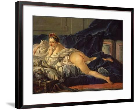 Odalisque (L'Odalisque)-Francois Boucher-Framed Art Print