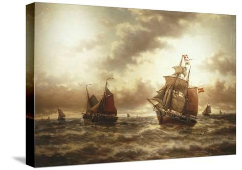 Threat of a Storm, Undated-Auguste Musin-Stretched Canvas Print