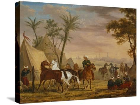 The Horsemen, 1826-Charles Bellier-Stretched Canvas Print