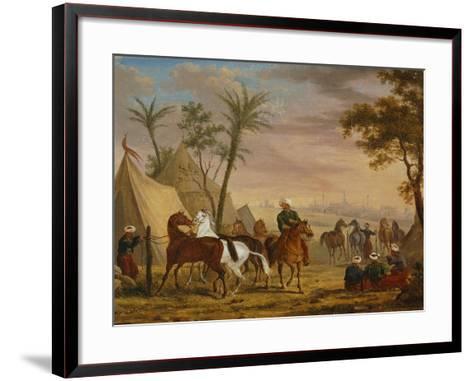 The Horsemen, 1826-Charles Bellier-Framed Art Print