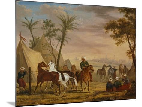 The Horsemen, 1826-Charles Bellier-Mounted Giclee Print