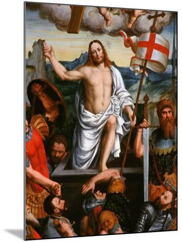 Christ Emerging from the Tomb, the Resurrection, from the Brotherhood of St Antony-Giuseppe Giovenone-Mounted Giclee Print