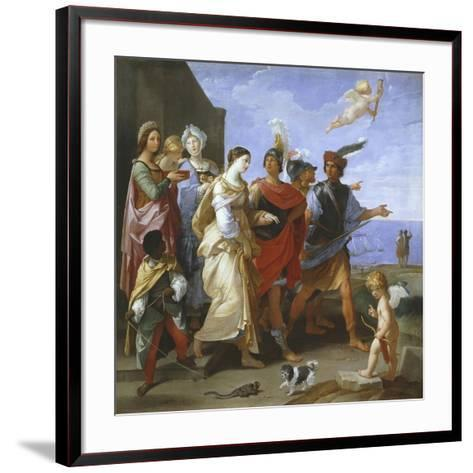 The Abduction of Helen, C.1626-29-Guido Reni-Framed Art Print