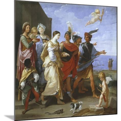 The Abduction of Helen, C.1626-29-Guido Reni-Mounted Giclee Print
