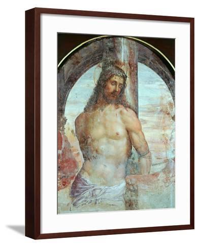 Christ at the Column, C.1514-Giovanni Antonio Bazzi Sodoma-Framed Art Print