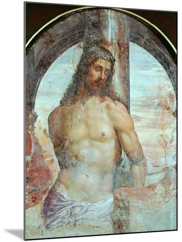 Christ at the Column, C.1514-Giovanni Antonio Bazzi Sodoma-Mounted Giclee Print