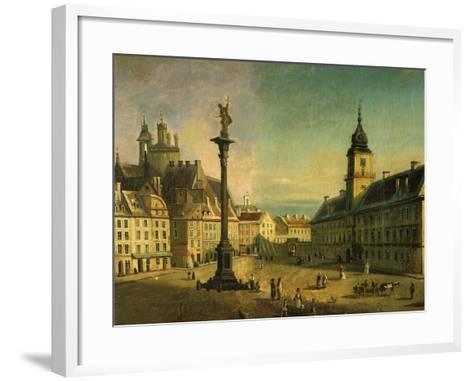 The Old Square, Warsaw, Poland (Detail)-Jan Seidlitz-Framed Art Print