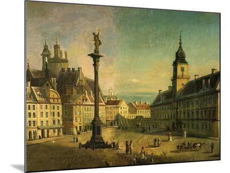 The Old Square, Warsaw, Poland (Detail)-Jan Seidlitz-Mounted Giclee Print