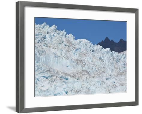 Bear Glacier in Kenai National Park-Michael Melford-Framed Art Print