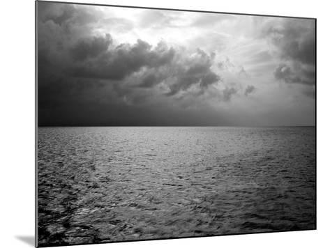 Heavy Clouds over Dark Water-Heather Perry-Mounted Photographic Print
