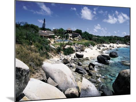 A Private Villa on the Edge of the Sea on Virgin Gorda-Mauricio Handler-Mounted Photographic Print