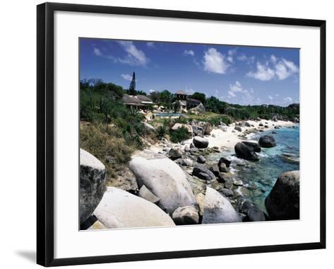 A Private Villa on the Edge of the Sea on Virgin Gorda-Mauricio Handler-Framed Art Print