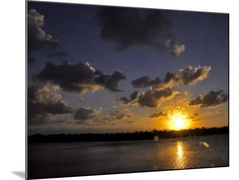 The Sun Setting over the Intracoastal Waterway-Raymond Gehman-Mounted Photographic Print