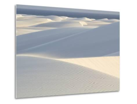 White Sand Dunes Stretch for Miles at Aomak Beach-Michael Melford-Metal Print