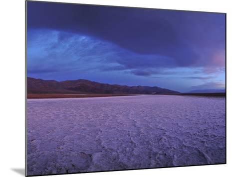 Salt Flats and Polygons on the West Side Road-Raul Touzon-Mounted Photographic Print