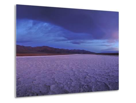Salt Flats and Polygons on the West Side Road-Raul Touzon-Metal Print