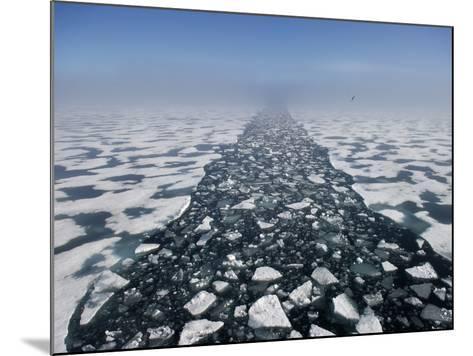 Arctic Landscape in the Hinlopen Strait-Keenpress-Mounted Photographic Print