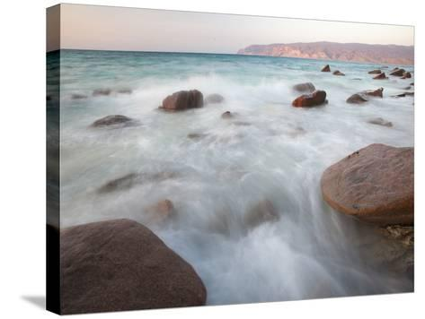 The West Coast of Socotra Island-Michael Melford-Stretched Canvas Print