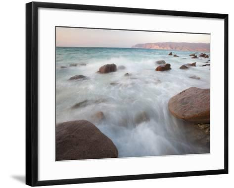 The West Coast of Socotra Island-Michael Melford-Framed Art Print