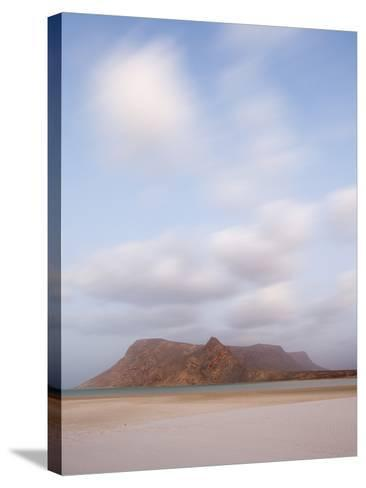 White Sand Beaches Stretch for Miles at Detwah Lagoon-Michael Melford-Stretched Canvas Print