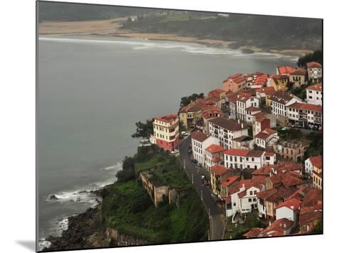 The City of Lastres on the Atlantic Coast-Raul Touzon-Mounted Photographic Print