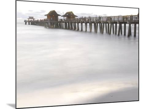 The Fishing Pier at Naples Beach-Raul Touzon-Mounted Photographic Print