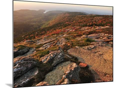 A View from the Top of Cadillac Mountain-Raul Touzon-Mounted Photographic Print