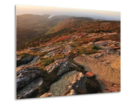 A View from the Top of Cadillac Mountain-Raul Touzon-Metal Print