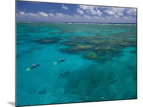 The Great Barrier Reef Out of Port Douglas in Australia-Michael Melford-Mounted Photographic Print
