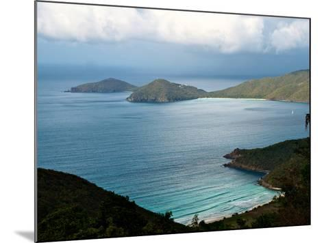 Guana Island Seen from High Atop Tortola Island-Heather Perry-Mounted Photographic Print