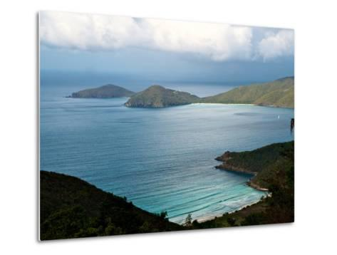 Guana Island Seen from High Atop Tortola Island-Heather Perry-Metal Print