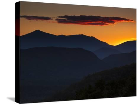 Whiteface Mountain in the High Peaks Region of Adirondak Park-Michael Melford-Stretched Canvas Print