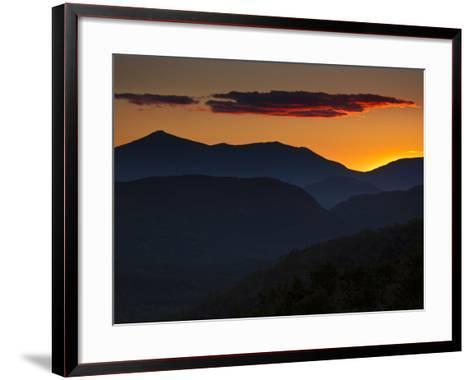 Whiteface Mountain in the High Peaks Region of Adirondak Park-Michael Melford-Framed Art Print