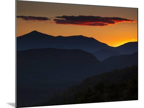 Whiteface Mountain in the High Peaks Region of Adirondak Park-Michael Melford-Mounted Photographic Print