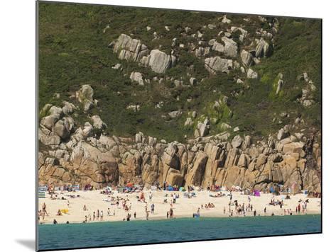 A Cornish Beach on a Rare Sunny Day-Mauricio Handler-Mounted Photographic Print