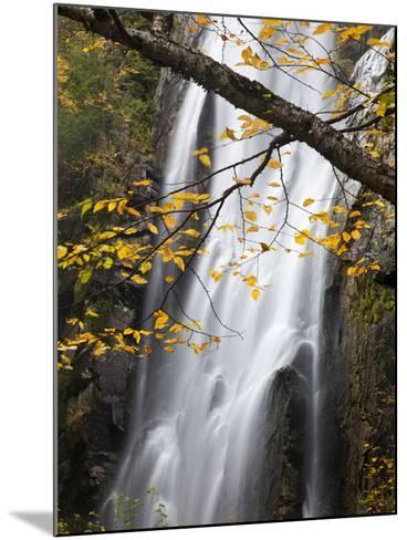 Rainbow Falls in the Saint Huberts Region of the Adirondacks-Michael Melford-Mounted Photographic Print