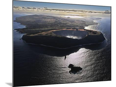 Three Volcanoes, Quiet Now, Formed Easter Island Half a Million Years Ago-Randy Olson-Mounted Photographic Print